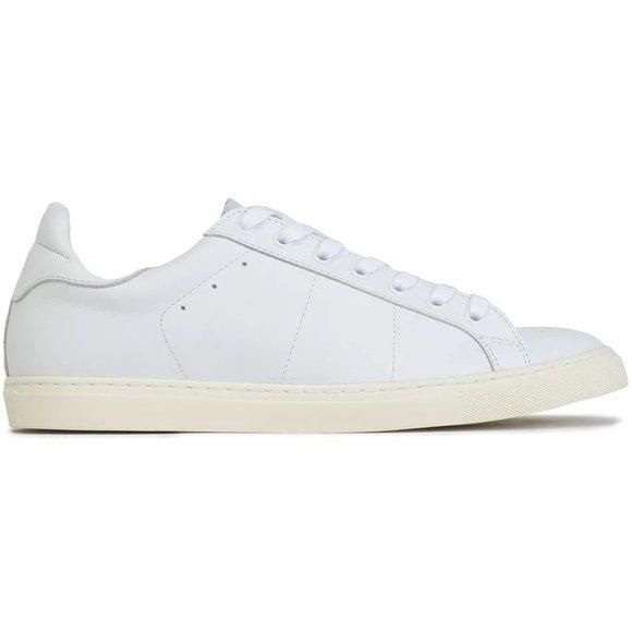 IRO Shoes   Iro White Leather Sneakers
